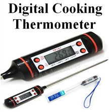 【Cheapest Price】Digital Thermometer BBQ Kitchen Cooking Cake Baking Cookie Oven ★ Kitchen Timer