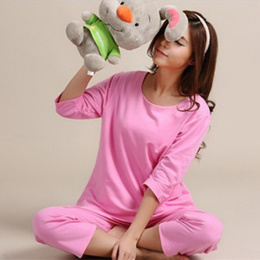 a6e300bed3 (In stock disposal · With translation) Pajamas Room Wear Pajamas Cotton  Pajamas · Cotton