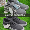 SALE BESAR-BESARAN ★ CANVAS SNEAKERS BEST SELLER ★ CASUAL FOR MEN ★ High Quality Low Budget ★ GRAB IT FAST!