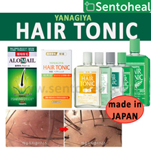 [YANAGIYA] Hair Tonic- Alomail/Cooling/ Mildly Scented/ Citrus/ Unscented 150ml/240ml/ 360ml/ 女人我最大