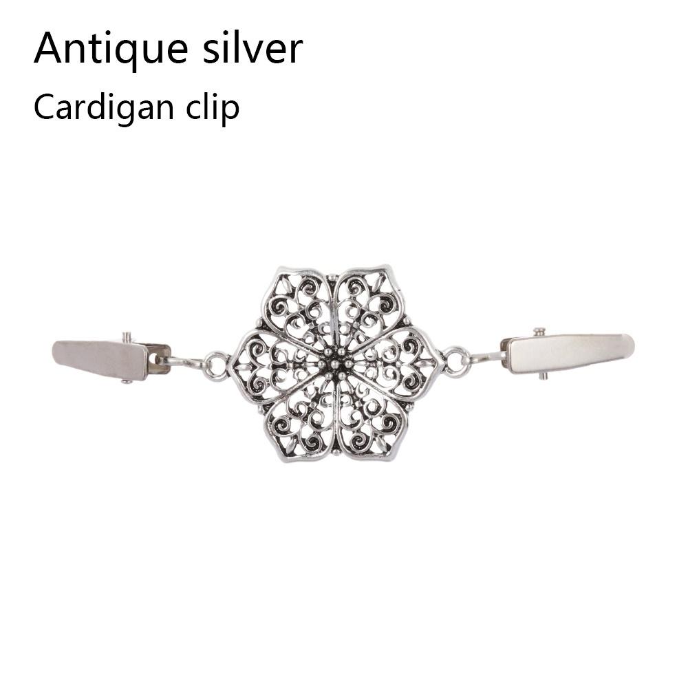 Vintage Cardigan Duck Clip Pin Sweater Shawl Blouse Collar Clasp Brooch  CJ