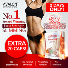 FREE 20 CAPS! Award Winning Safe Effective Slimming AVALON™ Fat Burner Plus