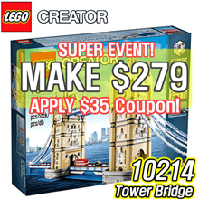 [MAKE $279] LEGO Creator Tower Bridge 10214
