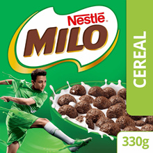 NESTLE MILO Breakfast Cereal Large Box (1 box of 330g) (SPECIAL OFFER)