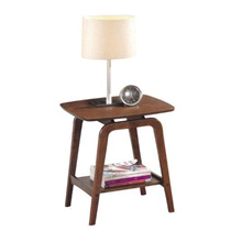Scania Solid Wood Side Table