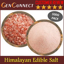 【EDIBLE SALT】Himalayan Fine/Coarse Table Salt Himalaya salt seasoning