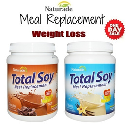 [LOSE 2-5KG IN 1 WEEK!] USA Naturade Total Soy Delicious Weight Loss Protein Shake *MEAL REPLACEMENT* 540g Reduce Cholestrol / Weight Loss