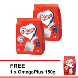NESTLE OMEGA PLUS Milk Powder 1kg  Buy 2 FREE OMEGA 150g