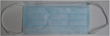 Medical surgical mask major leaguer M-101b Blue