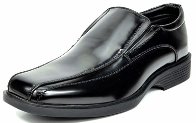BRUNO MARC Men STATE Formal Square-Toe Leather Lined Slip On Dress Loafers Shoes