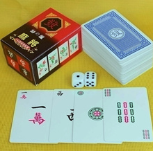 Mahjong Games Set Tavelling Mah Jong 114 cards Chinese Traditional Indoor Classic Games