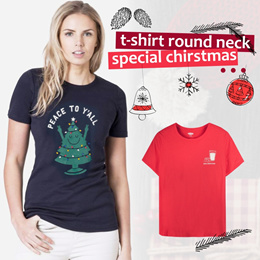 New Collection..!!! Women Christmas T-Shirt/Ladies T-Shirts/Women T-ShirtBranded Blouse