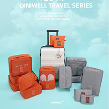 Diniwell Travel Organizer Shoe Pouch Toiletries Bag Handle Luggage Thru Bag Cosmetic Multi pouch