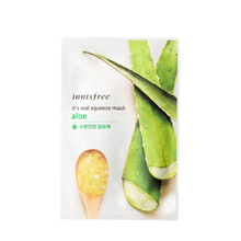 INNISFREE Its Real Squeeze Mask - Aloe 20ml (IN040)