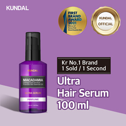 [KUNDAL] Ultra Hair Serum 100ml ✨Kr No.1 Brand✨SHAMPOO⭐1 sold in EVERY 3 Seconds⭐