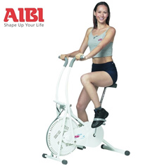 Qoo10 EXCLUSIVE Sale! AIBI 2-way Air Bike AB-B326 (WHITE). Ready Stock. Diet/ Slimming