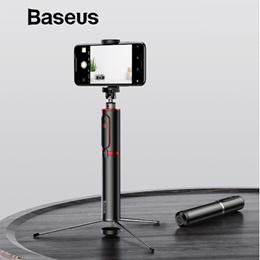 Baseus Bluetooth Selfie Stick Portable Handheld Smart Phone Camera Tripod with Wireless Remote