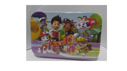 Paw Patrol Jigsaw Puzzle with Tin Case: Ryder and the Pups Rescue Team (35pcs)