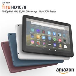 (무료배송) 아마존 파이어 fire hd 8/10 태블릿 올뉴 2020 /관부가세 포함