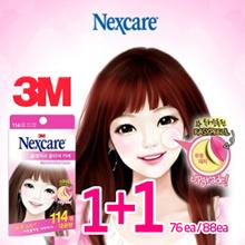 [1+1][3M Nexcare] 114ea/88ea/76ea★3M Blemish Clear Cover Acne Patch/Truble/Face Mask/eye mask/pimple