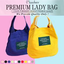MISSHER READY STOCKS ★ Canvas Bag / Sling Bag / Mini Bag / Pouch / Clutch  LB-CG02