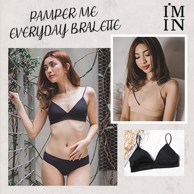 0f4fa0f137d09 Qoo10 - Pamper Me Everyday Bralette   Underwear   Socks