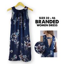 Best seller ! Branded Women Dress - Sleevess Dress - Shoulder Dress - Long Dress