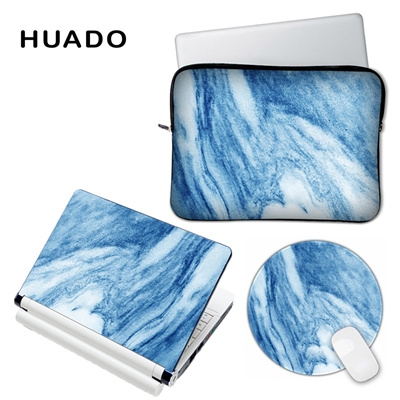 Marble vinyl decal laptop skin cover for lenovo/hp/asus Custom DIY logo  laptop accessory case sticke