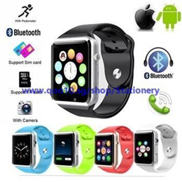 2016 Hot Sell Bluetooth SmartPhone SmartWatch Support Android IOS 1.54 Touch Screen With Remote Came