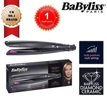 BABYLISS ST326E Slim Straightener 28MM Protect[WetDry] with Diamond Ceramic Plates [ 1Yr Warranty)