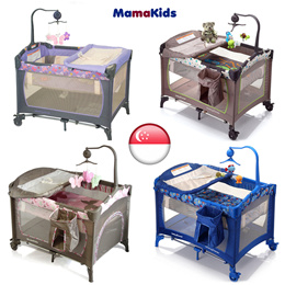 baby bed cot crib Playard playpen foldable Bassinet child kid