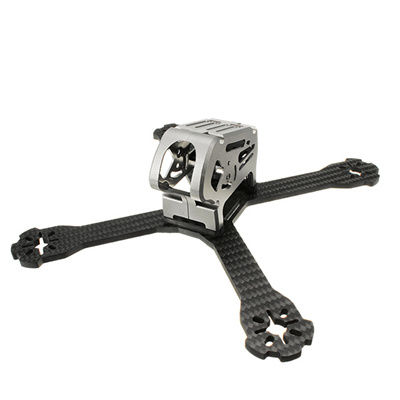 Realacc Stan200 200mm 4mm Arm Thickness Carbon Fiber FPV Racing Frame Kit for RC Drone