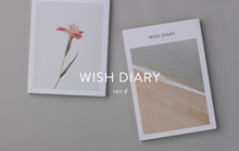 Wish Diary Planner / 2019 Hope Dream Weekly Monthly / English Korea / Study Plan Schedule Management