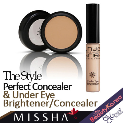 [Missha] The Style Perfect Concealer / Under Eye Brightener Concealer Deals for only Rp115.000 instead of Rp115.000