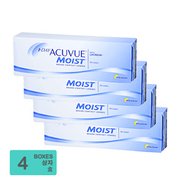 [Free Shipping] Johnson and Johnson 1-Day Acuvue Moist BC 8.50mm (30pcs/box) x4