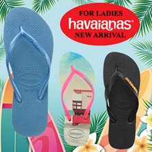 【HAVAIANAS FLIP FLOP】FOR LADIES★3 WORKING DAYS DELIVERY★ 100% AUTHENTIC FROM BRAZIL