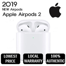 NEW AIRPOD 2 with [ WIRELESS CHARGING CASE ] LOCAL STOCKS with WARRANTY - CHEAPEST Guarantee!