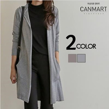 [CANMART] Soft Hoody Cardigan_C090614