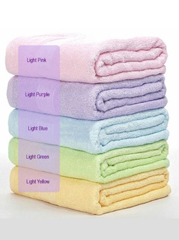 Special Promotion!! New Stocks!High Quality Bamboo Fiber Towels / Bath Towels / Baby Towels /Highly Absorbent / Soft/ Antibacterial