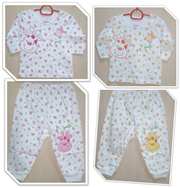 **XMAS PROMO !! NEW DESIGN !!! GOOD QUALITY !! CUTE BABY/ NEWBORN PAJAMAS! BABY PYJAMAS! 2pc Set