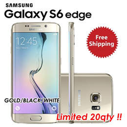 [Exports Set] Certified Refurdish DEVICE ONLY Samsung Galaxy S6 edge Gold G925S/K 32GB  Korea  Korea