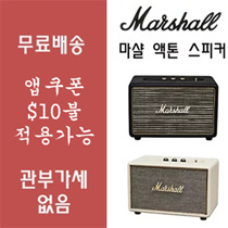 Marshall Acton Speaker Black Cream Color