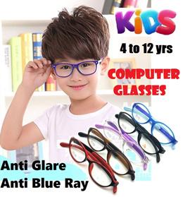 Children Anti Blue Light Ray Anti Glare Radiation Computer Glasses Spectacles