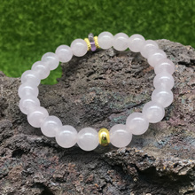 Rose Milky Quartz 8mm Best Mothers Day Gift Singapore