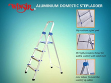 【FREE DELIVERY】Winsir Aluminium Household 3-6 Steps Ladder with Handrail and Safety Platform