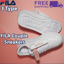 [FILA] ♥Get Qoo10 Coupon $10♥ 3type Couple Shoes / Couple Sneakers / FX VELTRAP SneakersVelcro Court shoes
