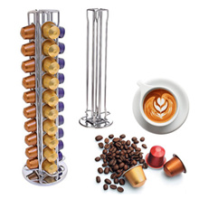 Spot NESPRESSO capsule coffee, Nespresso capsules a coffee stand 40 pieces revolving coffee storage