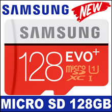 ★Free Shipping★Samsung Evo Plus 128GB MicroSDXC EVO+ Memory Card w/ Adapter / Class 10 // Export set