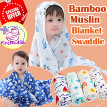BLK1:Update 19/02//2019 Newborn /infant/blanket/Bamboo Muslin/swaddle/bed sheet/baby/100%cotton