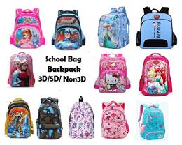 Kindergarten Primary School backpack Good Quality 3D cartoon design unicorn